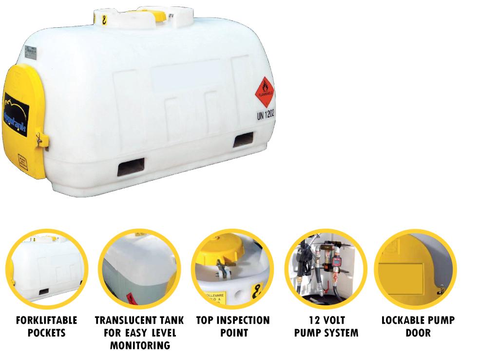 960 ltr Transportable diesel Tank