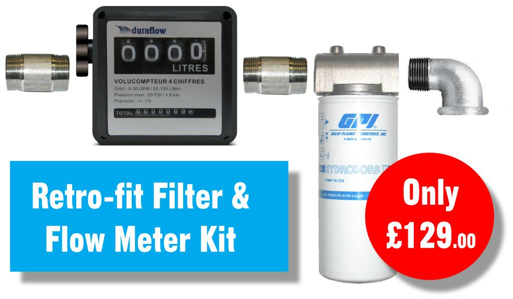 Retrofit Filter & Flowmeter Kit 01