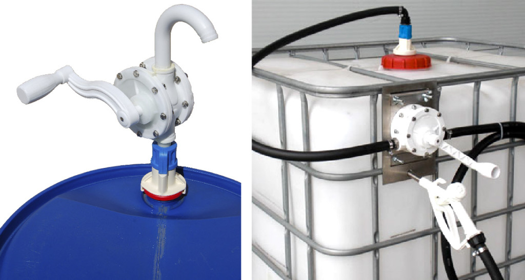 Rotary Hand Pump for pumping Adblue