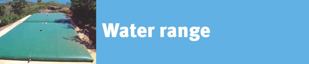 Water Storage Bladder Tank Header