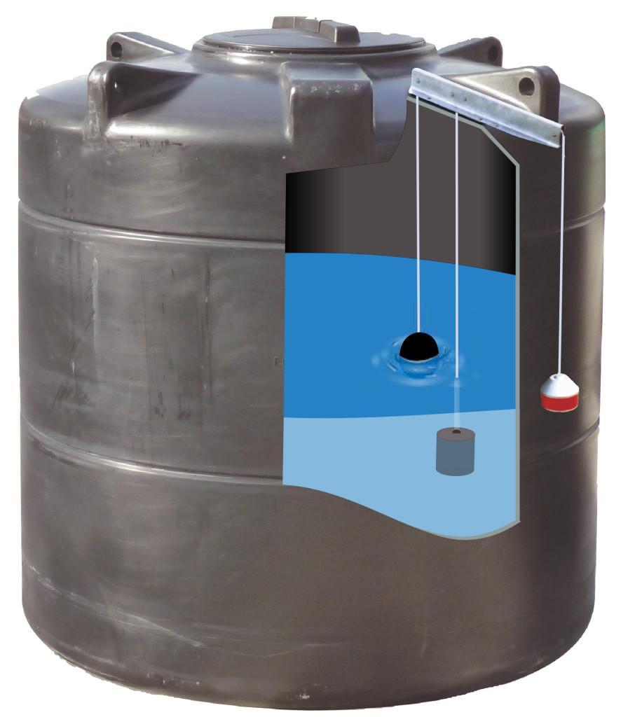 Vertical water storage tanks d h group