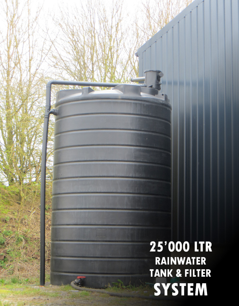 25000 Litre Water tank for Rainwater. 01