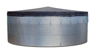 Megastor Corrugated Steel Tank covers