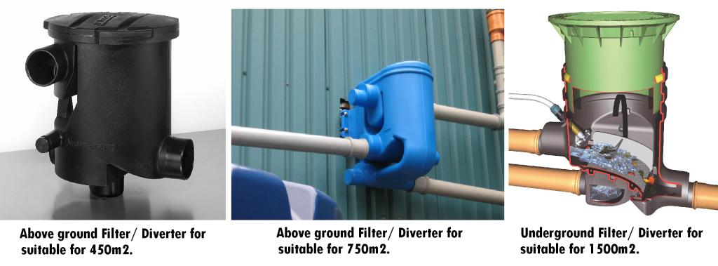 Rainstor Rainwater Harvesting filters x 3 image