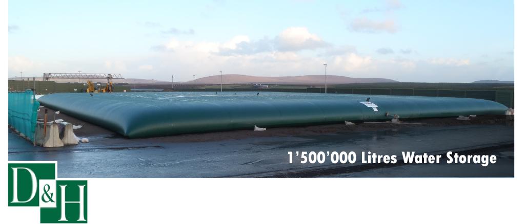 15000000 Litre Bladder Tank